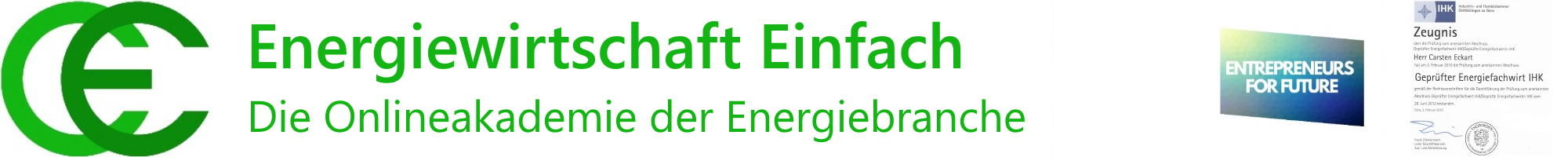 Energiewirtschaft Einfach